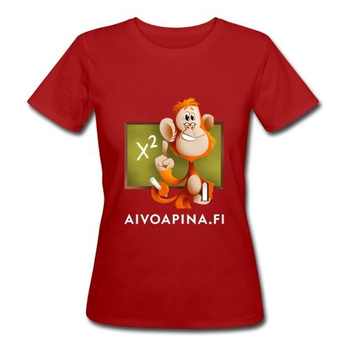Aivoapina-paita naiselle (eko) - Naisten luonnonmukainen t-paita