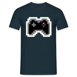pixel controller - Männer T-Shirt