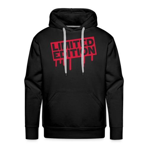 limited sweat rouge - Sweat-shirt à capuche Premium pour hommes