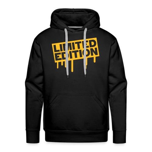 limited sweat or jaune - Sweat-shirt à capuche Premium pour hommes
