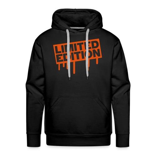 limited sweat orange - Sweat-shirt à capuche Premium pour hommes