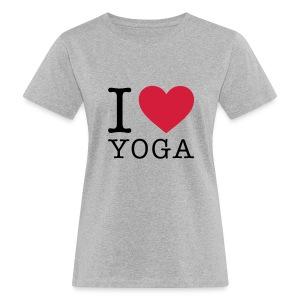 I love yoga - Frauen Bio-T-Shirt