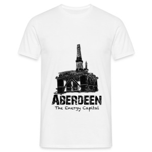 Aberdeen - the Energy City men's T-shirt - Men's T-Shirt