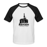 T-Shirts ~ Men's Baseball T-Shirt ~ Aberdeen - the Energy Capital Men's Baseball T-Shirt