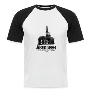 Aberdeen - the Energy Capital Men's Baseball T-Shirt - Men's Baseball T-Shirt