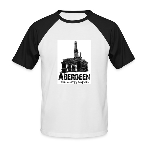 Aberdeen - the Energy Capital Men's Baseball T-Shirt - Men's Baseball T-Shirt