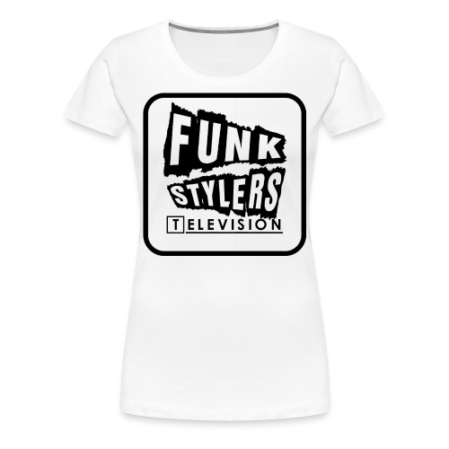 Womens Tee: Bordered - Plain  - Women's Premium T-Shirt