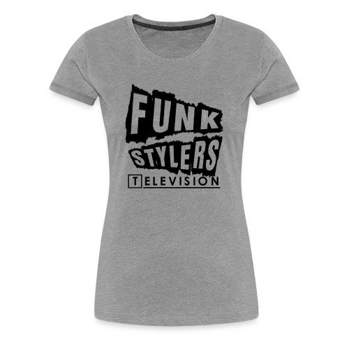 Womens Tee: Borderless - Plain  - Women's Premium T-Shirt
