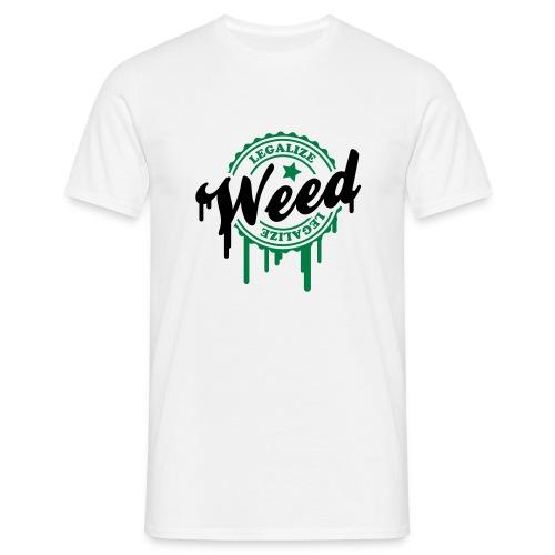 legalize - T-shirt Homme