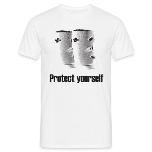 Men's Tchoukball Tshirt Protect Yourself | Tchouka.ch  - Men's T-Shirt