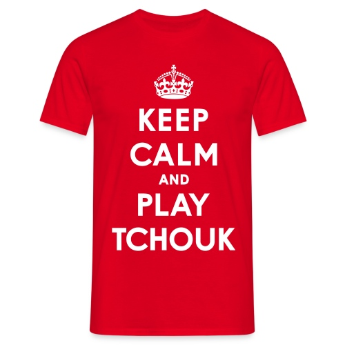 Men's Tchoukball Tshirt Keep Calm | Tchouka.ch  - Men's T-Shirt