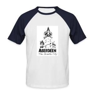 Aberdeen - the Granite City men's baseball T-shirt - Men's Baseball T-Shirt