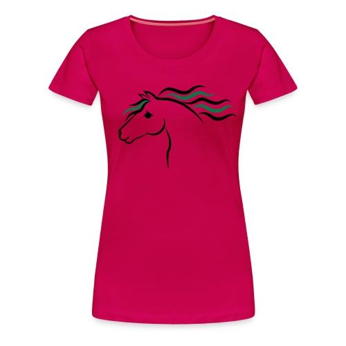 Horse T-shirt - Women's Premium T-Shirt