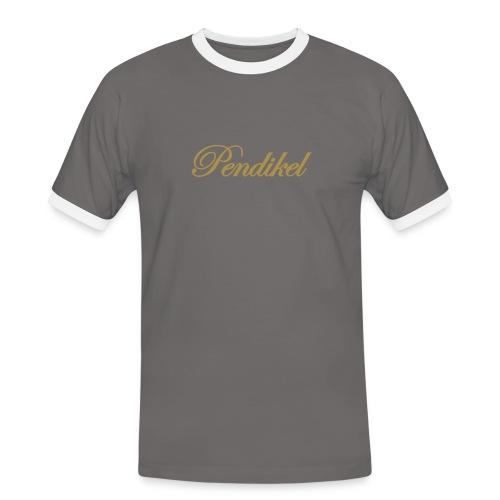 golden mist - Männer Kontrast-T-Shirt
