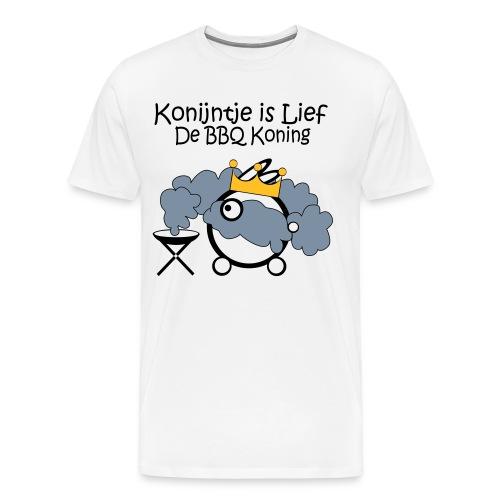 BBQ-Koning - Mannen Premium T-shirt