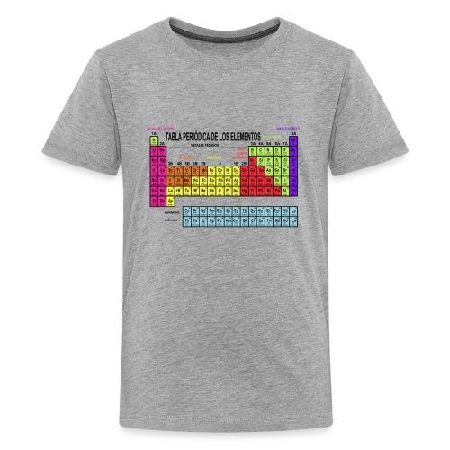 Tabla periódica teen - Camiseta premium adolescente