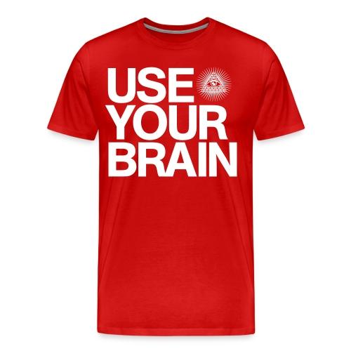 Use Your Brain T-Shirt - Men's Premium T-Shirt