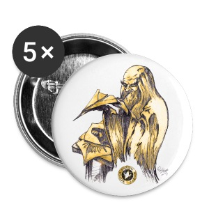 Leonardo paper plane badges - Buttons medium 32 mm