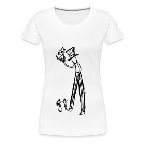 giant wizard - women - Frauen Premium T-Shirt