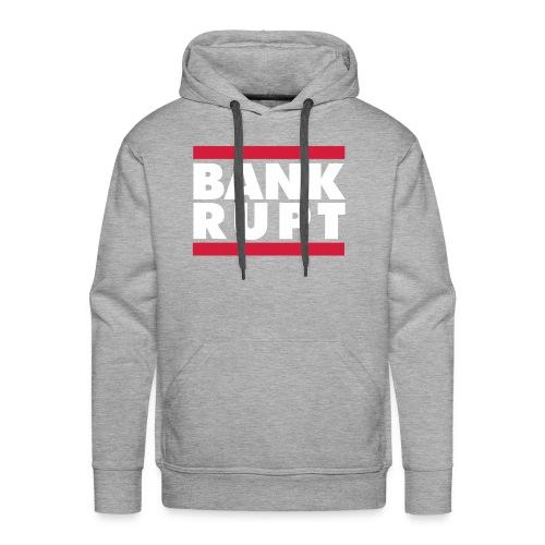 BankDMC hoodie [Gray] - Premium hettegenser for menn