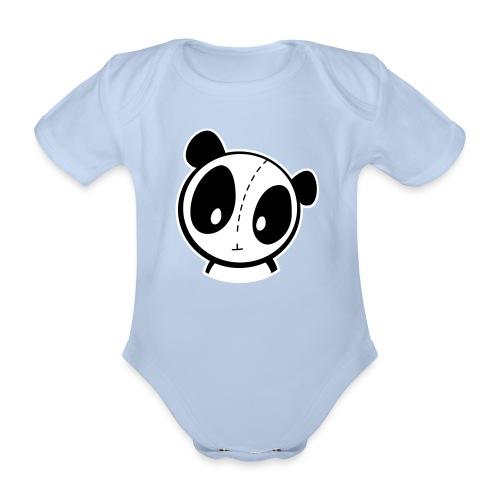 Strampler Panda - Baby Bio-Kurzarm-Body