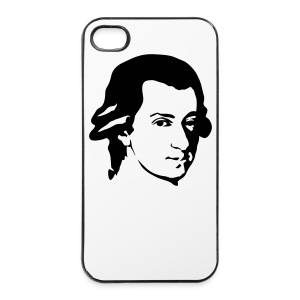 Wolfgang Amadeus Mozart - Coque rigide iPhone 4/4s