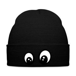 Smiley yeux interrogatifs - Bonnet d'hiver