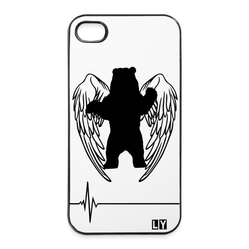 Bear with wings - iPhone 4/4s Case - iPhone 4/4s Hard Case