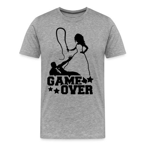 Game Over - Mannen Premium T-shirt