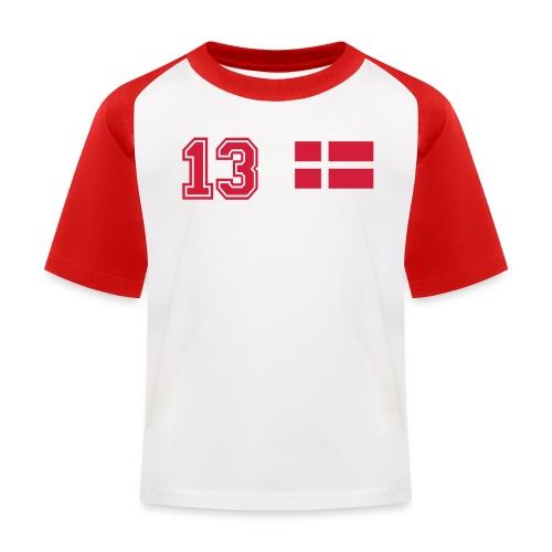 S.Grundtvig132 - Baseball T-shirt til børn