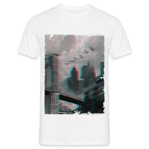 NYC 3D - Men's T-Shirt