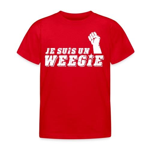 Je Suis Un Weegie - Kids' T-Shirt