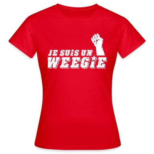 Je Suis Un Weegie - Women's T-Shirt