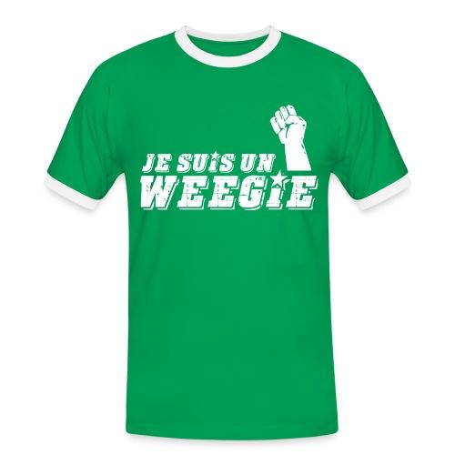 Je Suis Un Weegie - Men's Ringer Shirt