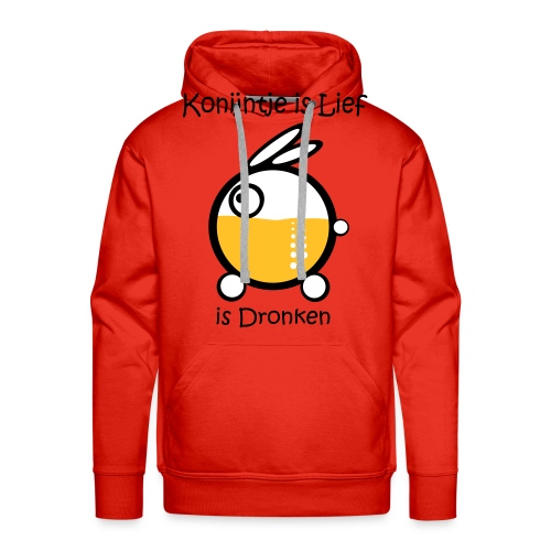 Dronken - Mannen Premium hoodie