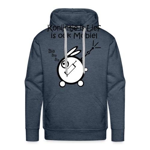 Mobiel - Mannen Premium hoodie