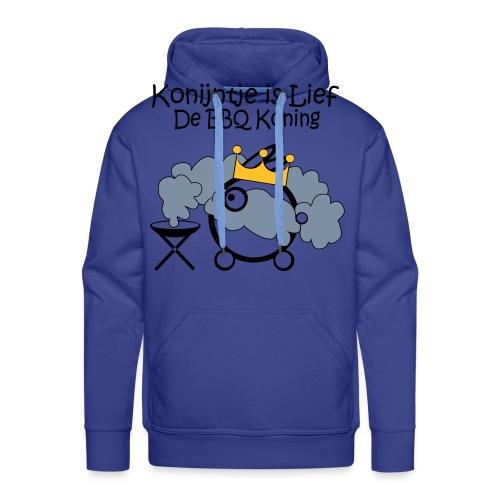 BBQ-Koning - Mannen Premium hoodie