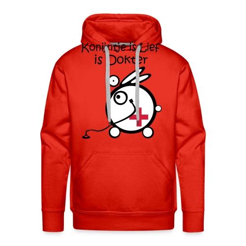 Dokter - Mannen Premium hoodie