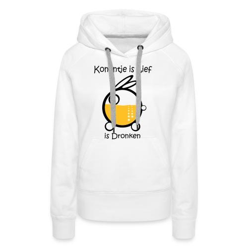 Dronken - Vrouwen Premium hoodie