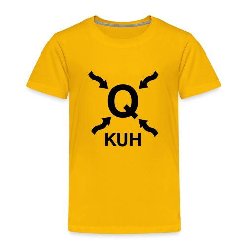 Q Kuhshirt - Kinder Premium T-Shirt