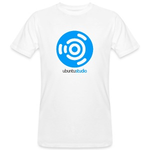 T-shirt Ubuntu Studio - Blue Logo - Men's Organic T-shirt