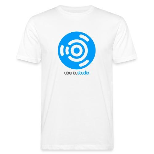 T-shirt Ubuntu Studio - Blue Logo - Men's Organic T-Shirt
