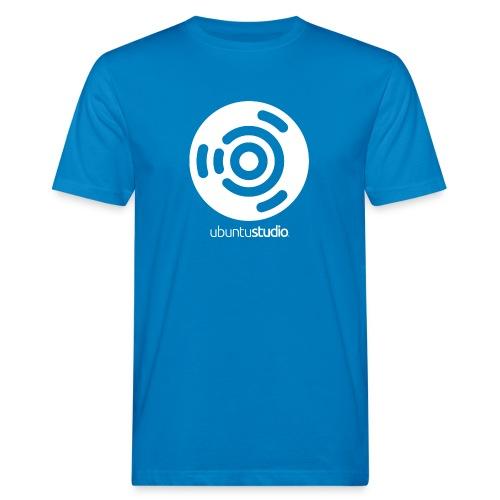 T-shirt Ubuntu Studio - White Logo - Men's Organic T-Shirt