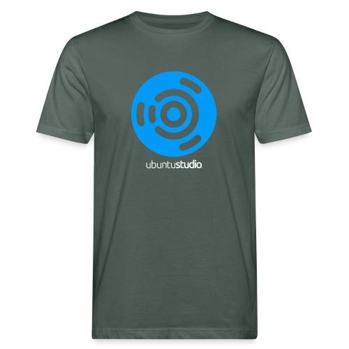 T-shirt Ubuntu Studio - Blue and White Logo - Men's Organic T-Shirt