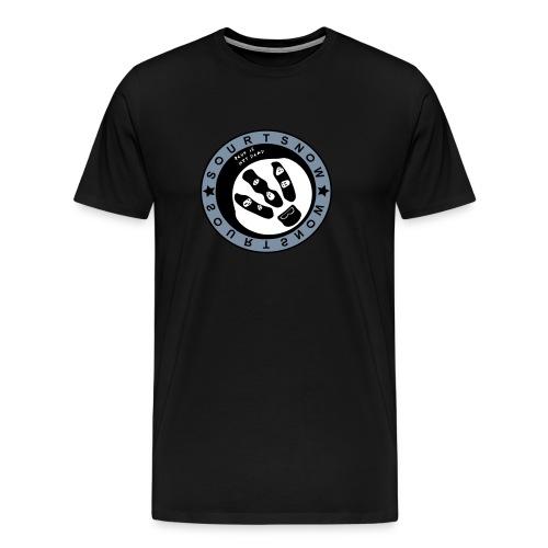 Classical logo ARGENT - T-shirt Premium Homme