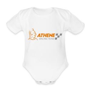 Baby Body Logo front - Baby Bio-Kurzarm-Body