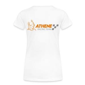 Frauen Shirt Standart Logo hinten - Frauen Premium T-Shirt