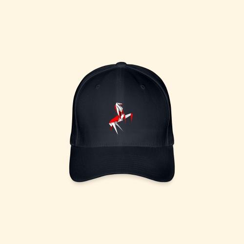 Baseballkappe  - Origamipferd - Flexfit Baseballkappe