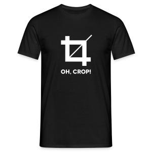Männer Shirt Oh Crop - Männer T-Shirt