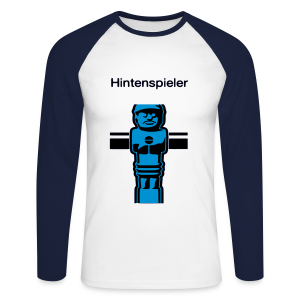 Hintenspieler by Kulo - Men's Long Sleeve Baseball T-Shirt
